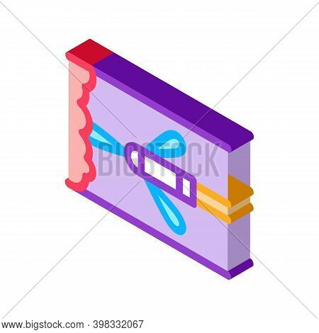 Sprayer Drain Cleaning Icon Vector. Isometric Sprayer Drain Cleaning Sign. Color Isolated Symbol Ill
