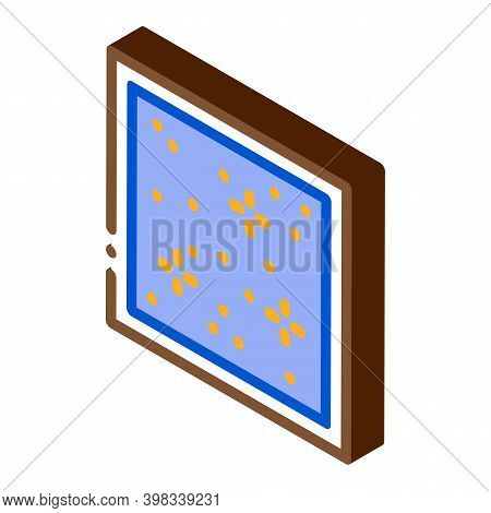 Star Sky Stretch Ceiling Icon Vector. Isometric Star Sky Stretch Ceiling Sign. Color Isolated Symbol