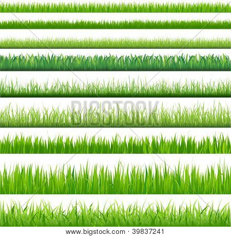 Backgrounds Of Green Grass