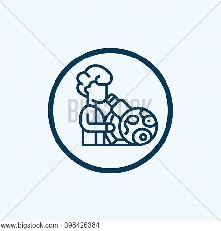 Microbiology Vector Icon Symbol. Creative Sign From Science Icons Collection. Filled Flat Microbiolo
