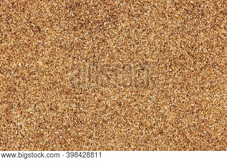 Brown Cork Board Texture. Empty Copy Space Noticeboard For Graphic Design. Office Message Background