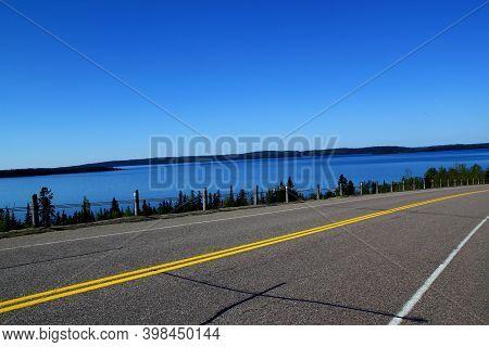 Roadtrip In Canada: Wonderful Road Near Lake Superiror - Perfect Day For A Roadtrip