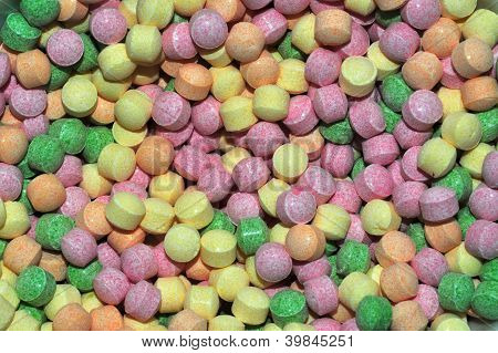 Sherbet Balls multicolored - Background