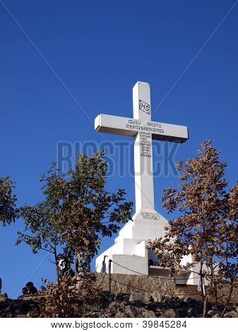 Cross On Top Of Krizevac