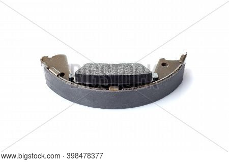 Set Of Asbestos Brake Pads And Brake Shoe For Disc And Drum Brakes, Replacement Spare Parts Of The C