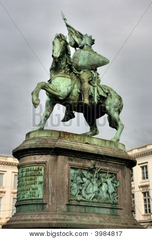 Monument In Brussels