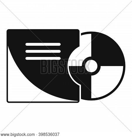Stage Director Cd Icon. Simple Illustration Of Stage Director Cd Vector Icon For Web Design Isolated