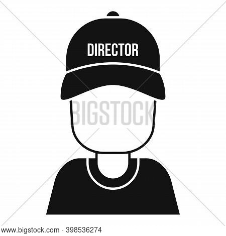 Stage Director Icon. Simple Illustration Of Stage Director Vector Icon For Web Design Isolated On Wh