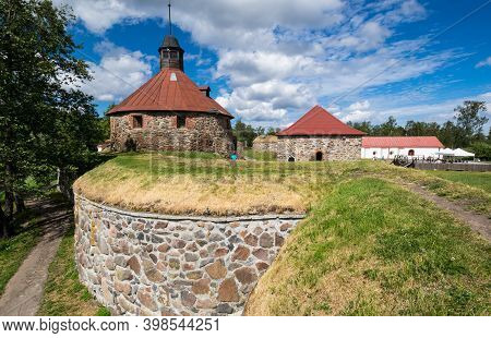 Korela Fortress At The Town Of Priozersk, Leningrad Oblast, Russia