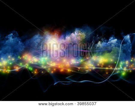 Colorful Fractal Clouds