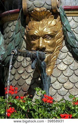 Gargoyle of the Moses Fountain