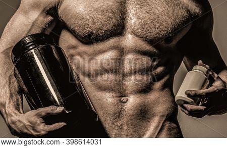 Steroid, Sport Vitamin, Doping, Anabolic, Protein. Bodybuilder, Bodybuilding. Sportsman, Muscles, At