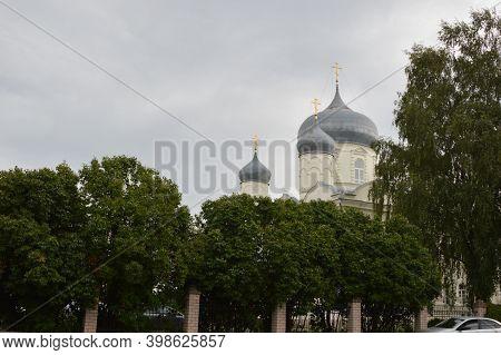 Russia, Veliky Novgorod, Severin Pokrovsky Women's Monastery, Pokrovsky Cathedral
