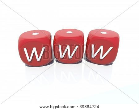 www red plastic casino gambling boxes 3D