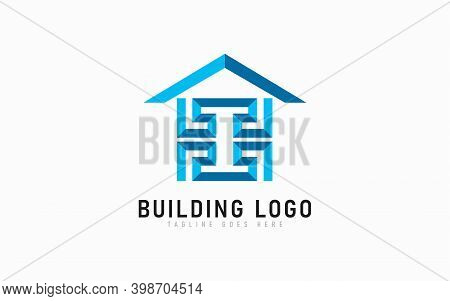 Abstract Building Logo Design. Building Architecture Logo Design Usable For Business, Architecture,
