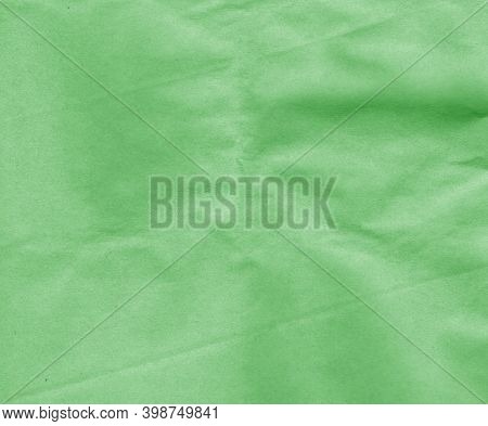 Craft Paper With Wrinckles Surface. Abstract Background And Texture For Design And Ideas