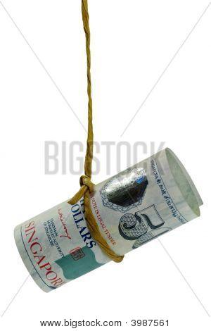 Dangling Singapore Dollar