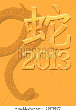2013 Year Of The Snake
