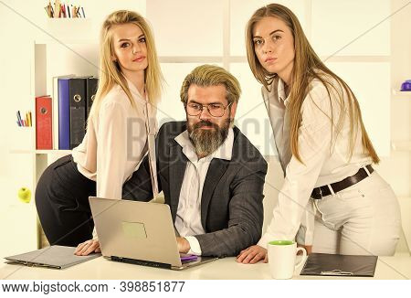 They Love Their Boss. Office Flirt. Career Company. Flirting And Seduction. Secretary And Manager. O