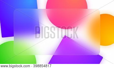 Abstract Colorful Background For Business Presentation, Space For Text, Template, Design Template, 4