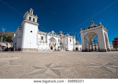 Cathedral - Copacabana, Bolivia