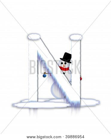 Alphabet Frosty N