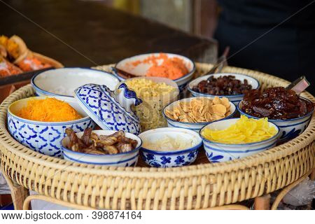 Ingredian For Mak Kind Of Thai Sweetmeat
