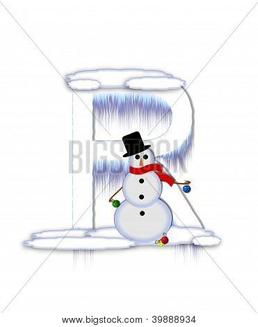 Alphabet Frosty R
