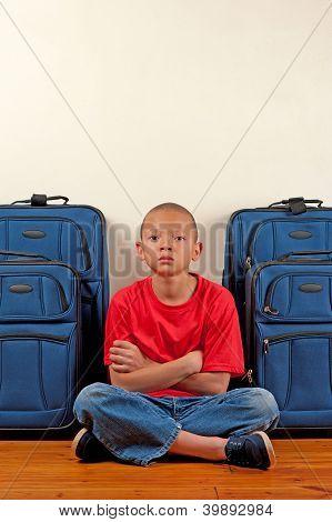 Unhappy Traveller