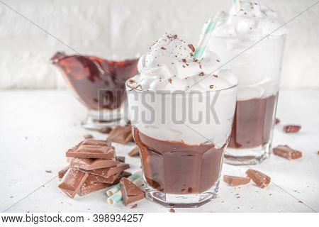 Hot Chocolate Milk Shake