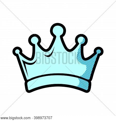 Crown Logo, Crown Icon Vector In Modern Flat Style For Web, Graphic And Mobile Design. Crown Icon Ve