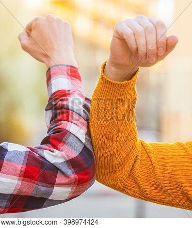 Dont Shake Hands. Stop Handshakes. Coronavirus Epidemic. Coronavirus, Illness, Infection, Quarantine
