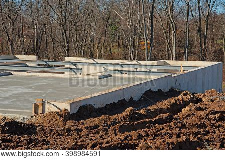 Fresh Foundation Of A New House Material