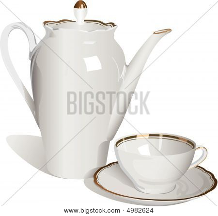 Teapot And Cup.eps