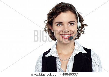 Cheerful Customer Care Executive