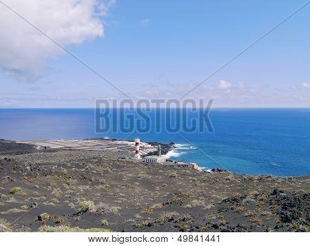 Fuencaliente - Los Canarios Volcanic Landscape on the Island La Palma Canary Islands Spain poster