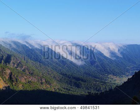 Sea Of Clouds On La Palma