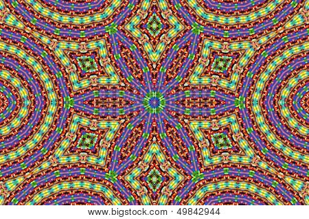 Bright Background With Abstract Pattern