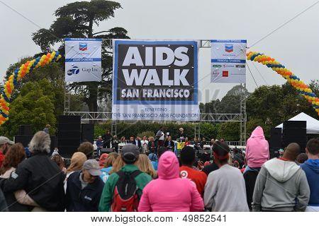AIDS Walk SF 2013