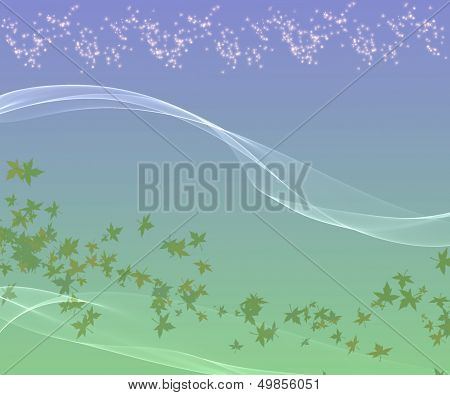 Smooth Abstract Background.