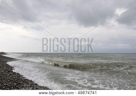 Seascape After A Storm