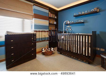 Interior design: Baby room