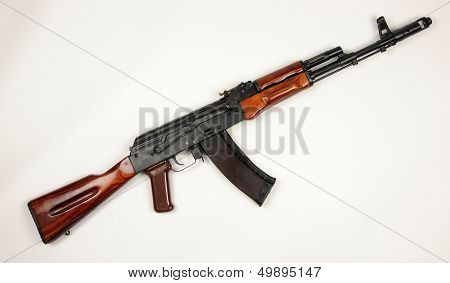 Russian Ak74 Kalashnikov Assault Rifle