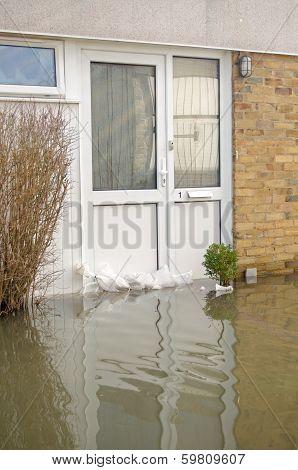 Flooded Front door, Basingstoke