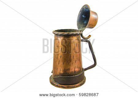 Vintage Copper Container/bowl