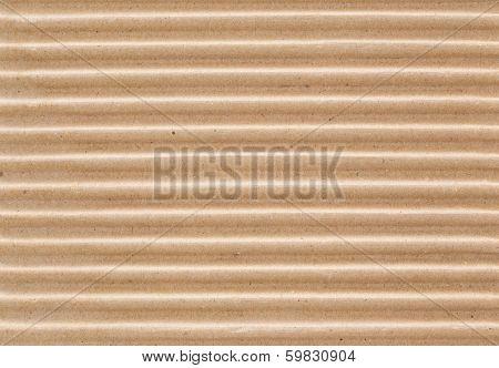 Corrugated fiberboard macro texture.