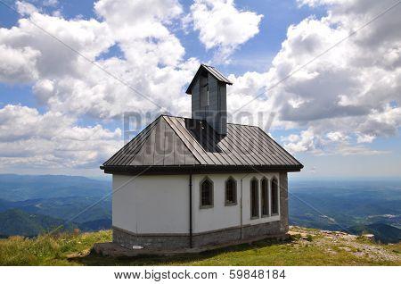 Mountain Matajur, Julian Alps in Italy and Slovenia, Europe