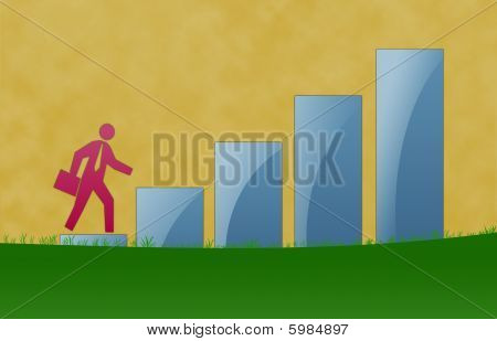 Business Growth Illustration