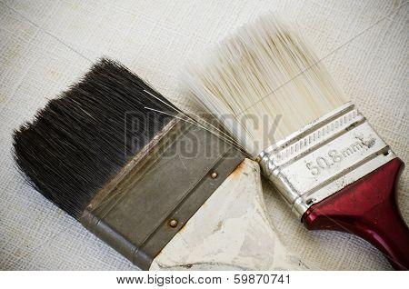 Used Paint Brush