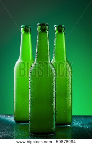 Beer bottles